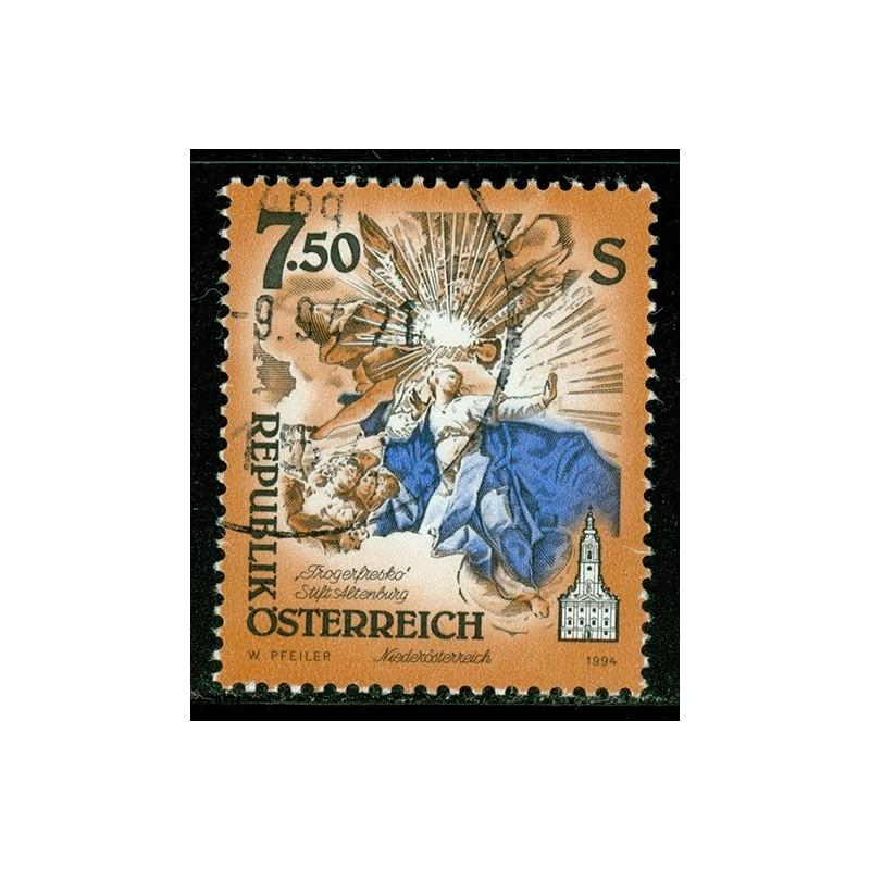 Rakouská známka 7.5