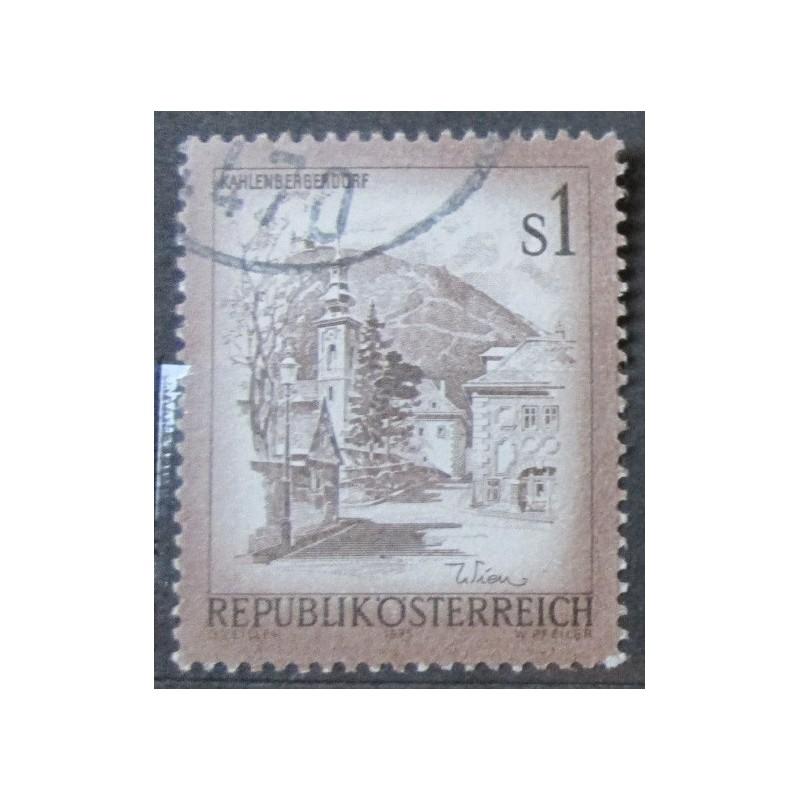 Rakouská známka s1