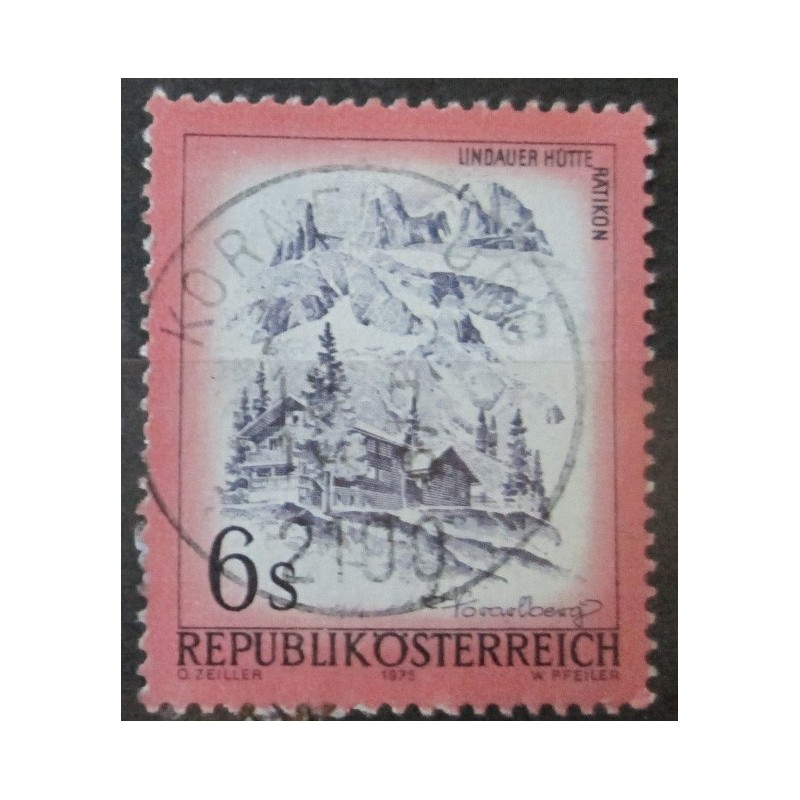 Rakouská známka s6