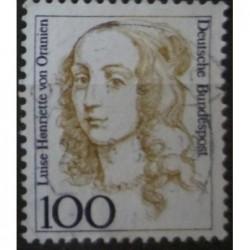 Známka Bundespost b100