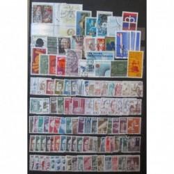 Bundespost partie známek 103 ks
