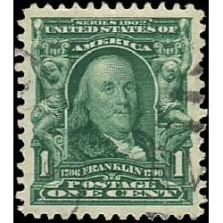 USA známka 1 cent