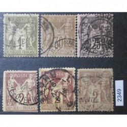 Francie partie známek 2349