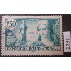 Francie razítkovaná známka 2381