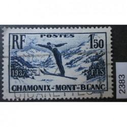 Francie razítkovaná známka 2383