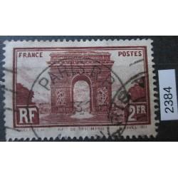 Francie razítkovaná známka 2384