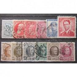 Belgie partie známek 3019