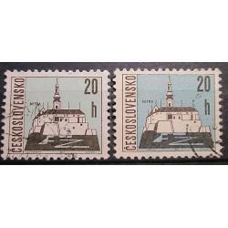 Československo známky barva 3033