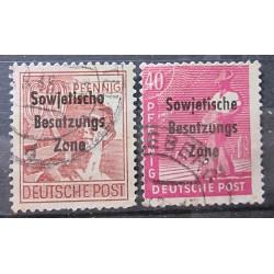 Německo známky 3159 přetisk