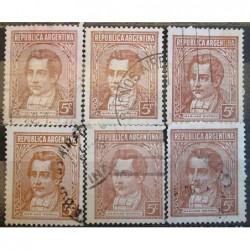 Argentína známky 2519