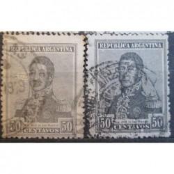 Argentína známky 2522