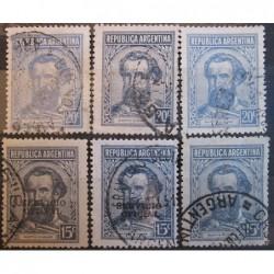 Argentína známky 2524