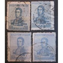 Argentína známky 2525