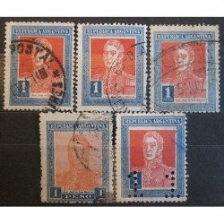 Argentína známky 2526