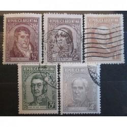 Argentína známky 2527