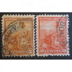 Argentína známky 2531