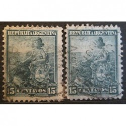Argentína známky 2534