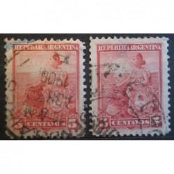 Argentína známky 2535