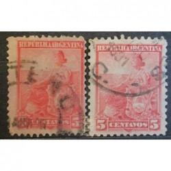 Argentína známky 2536