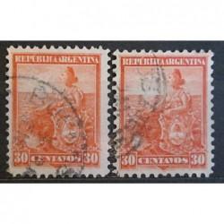 Argentína známky 2537
