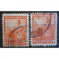 Argentína známky 2538