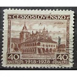 Československo známka 4187