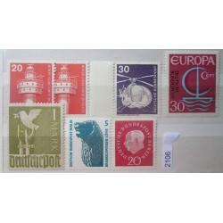 Německé známky 4200