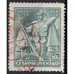 Československo červené razítko Známka 6578