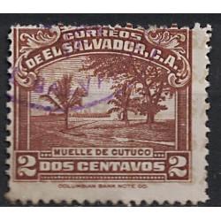Salvador Známka 6856