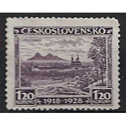 Československo Známka 7210
