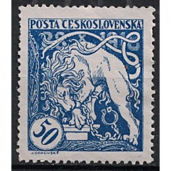 Československo Známka 7430