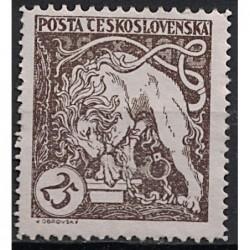 Československo Známka 7433