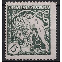 Československo Známka 7438