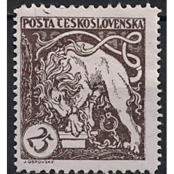 Československo Známka 7443