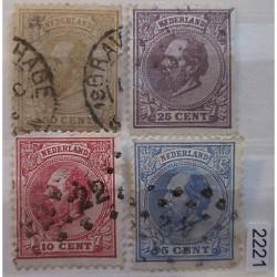 Holandsko partie známek 2221