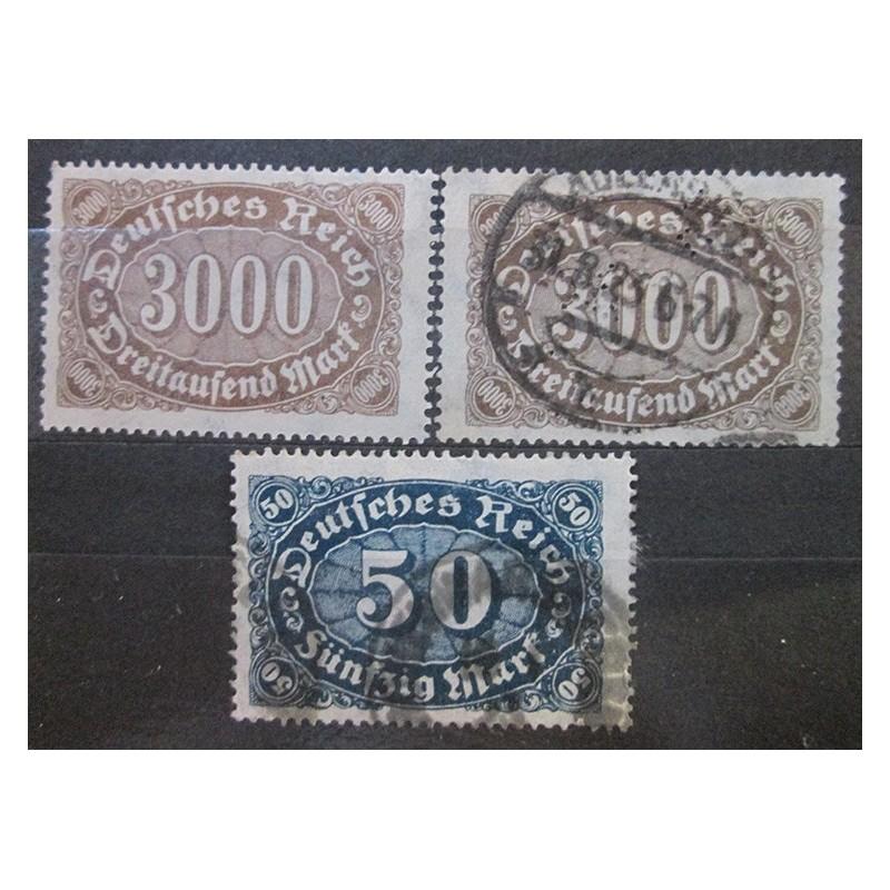 Deutsches Reich partie známek 22