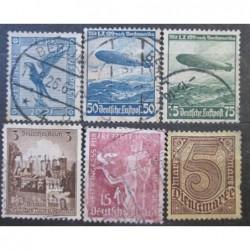 Deutsches Reich partie známek 25