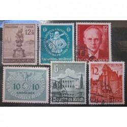 Deutsches Reich partie známek 27