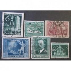 Deutsches Reich partie známek 28