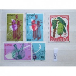 Guinea partie známek