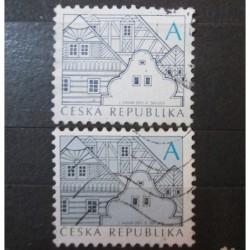Česká Republika známka 674 (zcela chybí modrá barva)