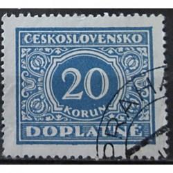Československo Doplatné 20 korun