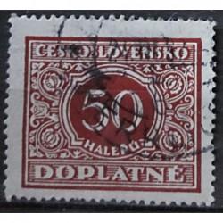 Československo Doplatné 50 haléřů