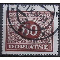 Československo Doplatné 60 haléřů