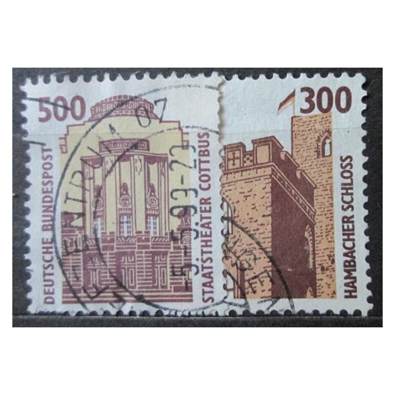 Známka Bundespost 300 a 500