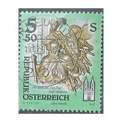 Rakouská známka 5