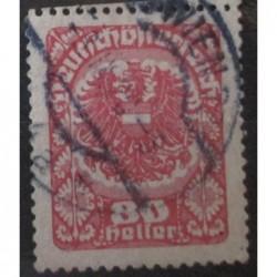 Rakouská známka 80
