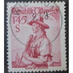 Rakouská známka 1.45S