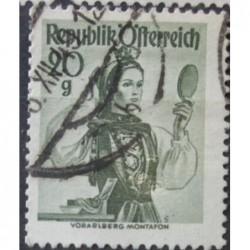 Rakouská známka 20g