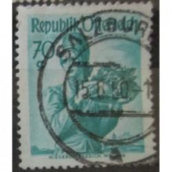 Rakouská známka 70g